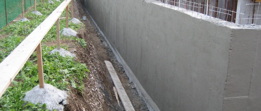 Cemento Osmotico Impermeailizzante mure perimetrali